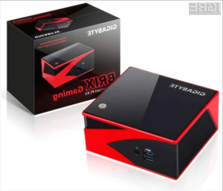 Kompaktni računalnik Brix Gaming Mini PC bo zlahka opravil tudi z grafično najbogatejšimi računalniškimi igrami.