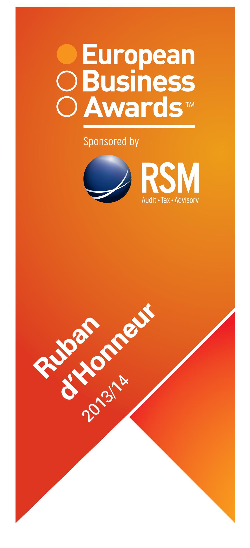 Agito prejel prestižni naziv Ruban d'Honneur
