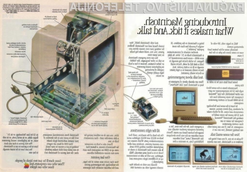 1984: »Kmalu boste le dve vrsti ljudi,« piše na Applovem oglasu. »Tisti, ki uporabljajo računalnike, in tisti, ki uporabljajo Apple.«