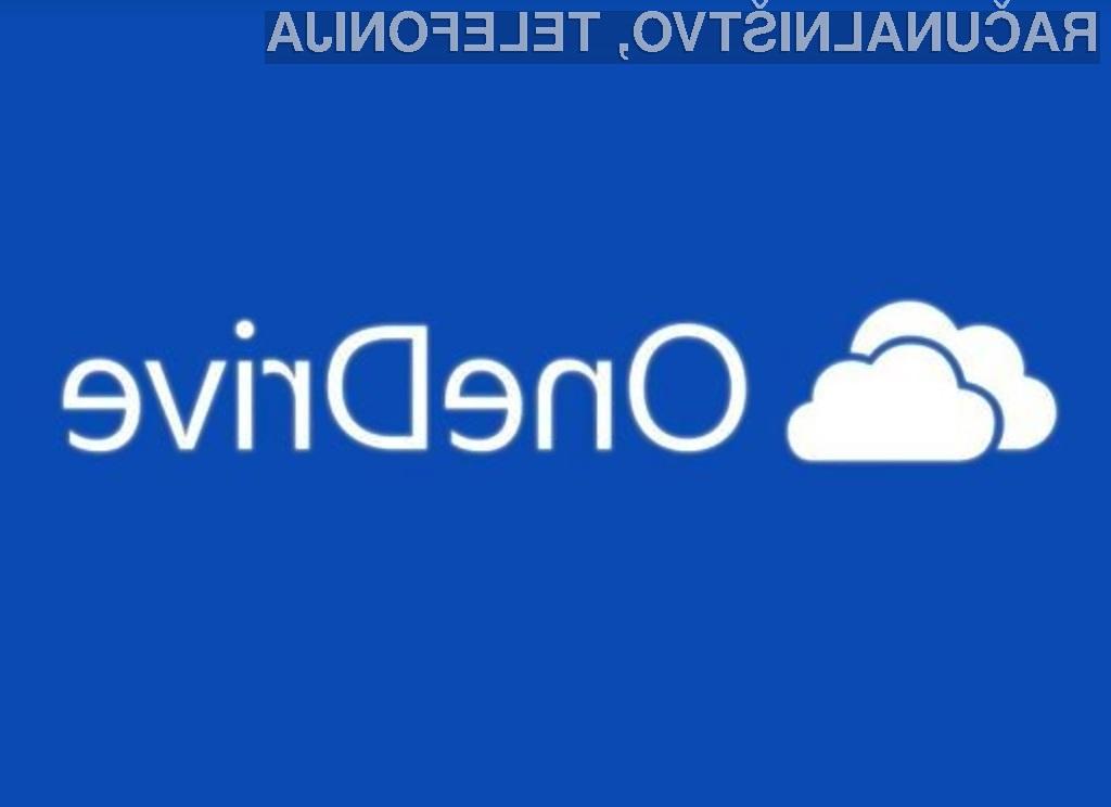Microsoft OneDrive bo kmalu ponujal le še pet gigabajtov brezplačnega prostora!