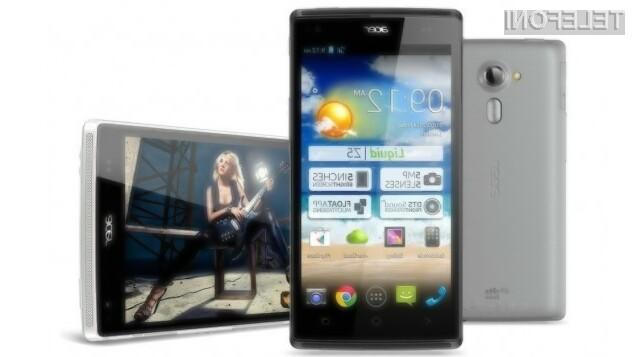 Cenovno ugodni mobilnik Acer Liquid Z5 Duo se bo zlahka prikupil ljubiteljem večpredstavnostnih vsebin in mobilnih iger.
