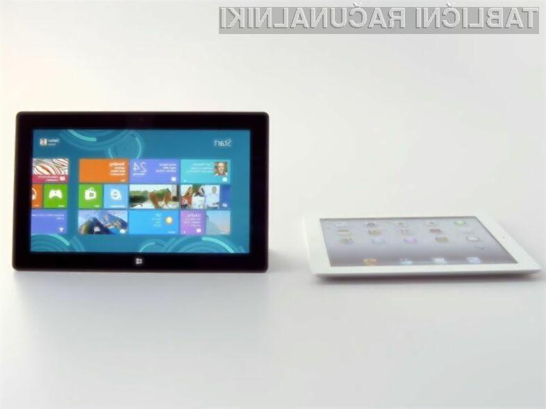Microsoft verjame, da je njegov tablični računalnik Surface 2 vsaj za razred boljši od Applovega iPada.