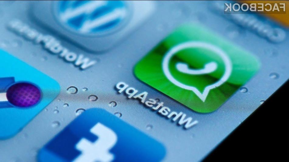 WhatsApp ima preko 450 milijonov mesečnih uporabnikov.