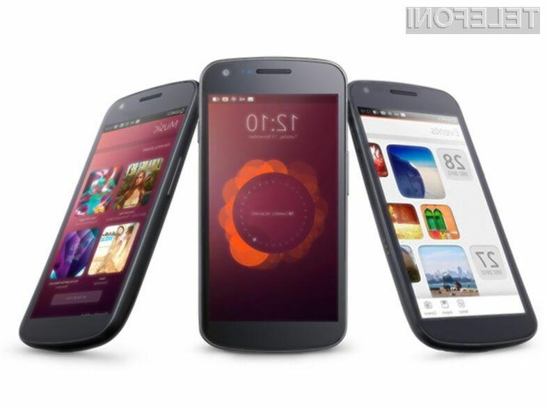 Prvi pametni mobilni telefon z mobilnim operacijskim sistemom Ubuntu bi lahko vsaj po ocenah poznavalcev zlahka nadomestil osebne računalnike.