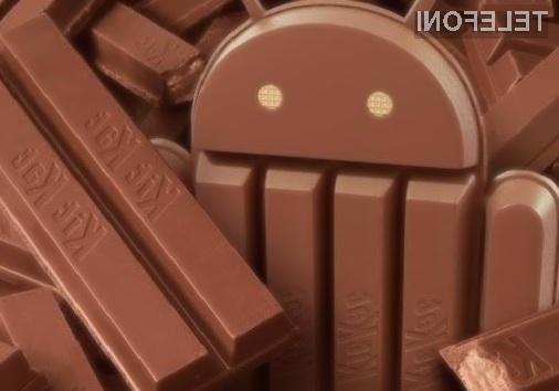 Android 4.4 KitKat prilezel na komajda 2,5 odstotka