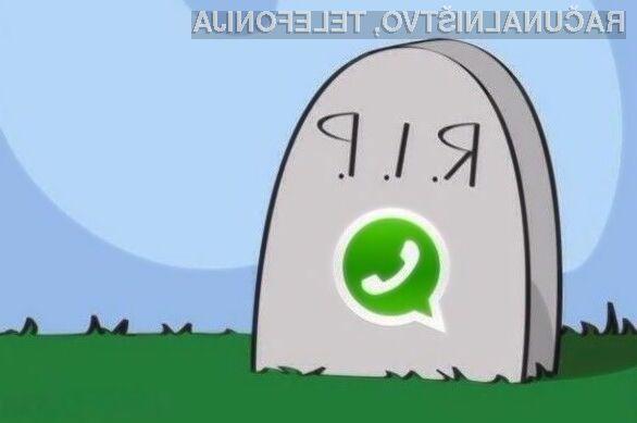 Mnogi uporabniki so sporočilni sistem WhatsApp že označili za »mrtvega«!