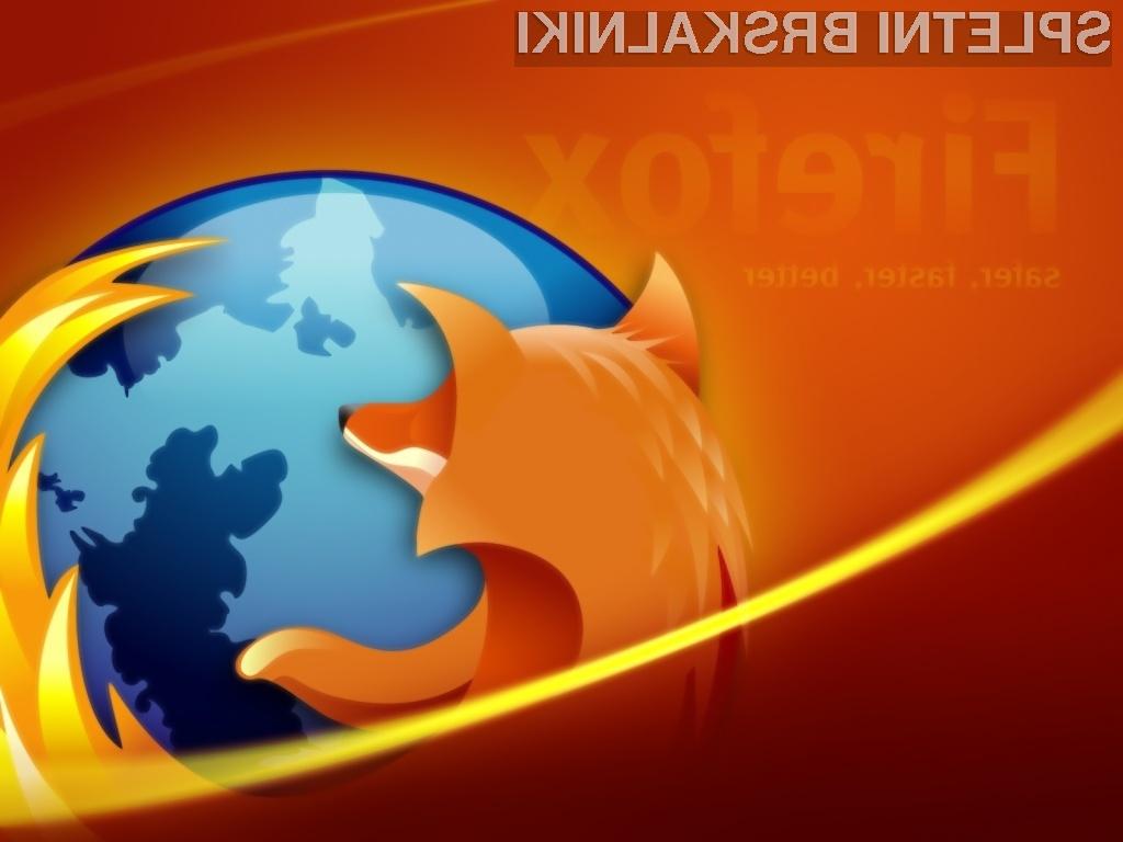 Za prijavo v Firefox Sync boste odslej potrebovali le elektronski naslov in geslo.