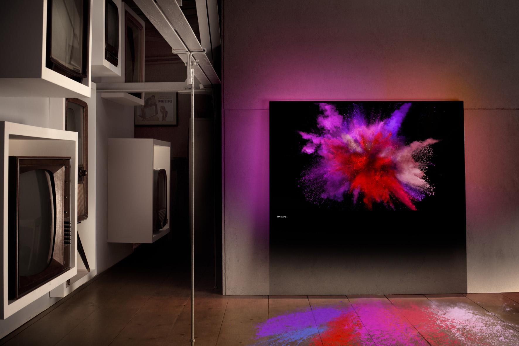 Priznani dizajnerski nagradi IF za Philipsova televizorja
