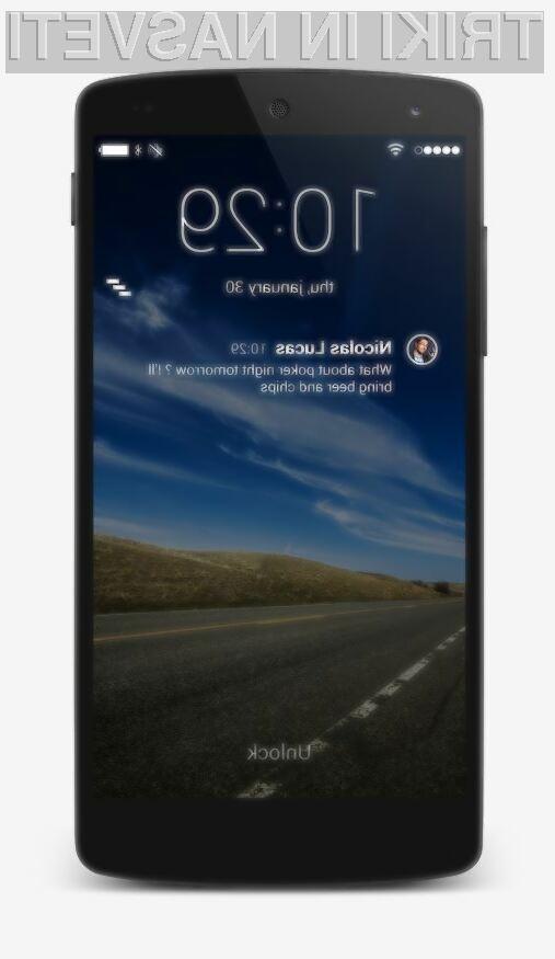 SlideLock je minimalističen, lep in uporaben. (foto: Google Play)