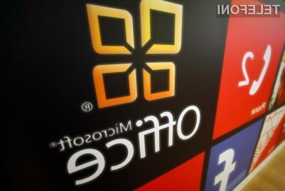 Pisarniški paket Office za Applove mobilne naprave že nared?