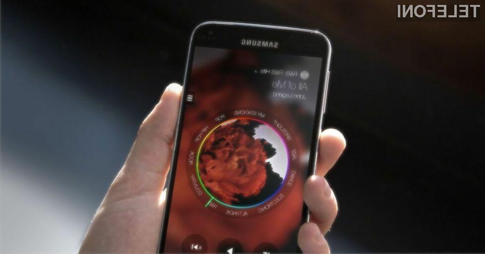 Samsung s storitvijo Milk Music nad iTunes Radio