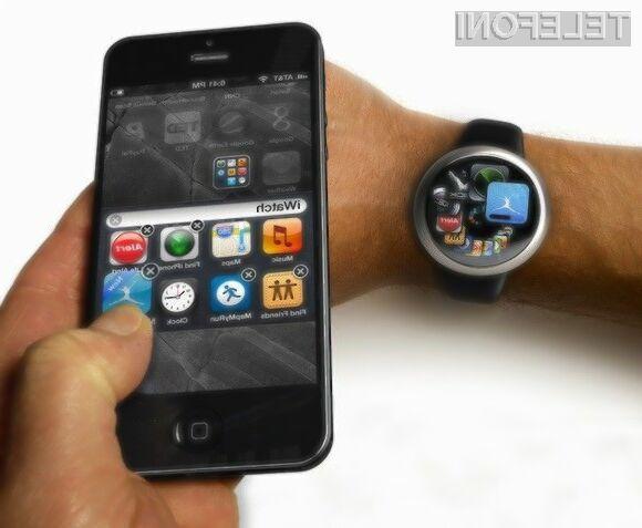 Pametna ročna ura Apple iWatch bo zaradi vgrajenega pedometra kot nalašč za ljubitelje športnih aktivnosti!