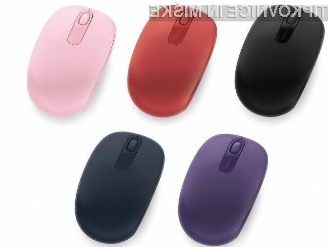 Računalniška miška Microsoft Wireless Mobile Mouse 1850 kljub nizki ceni ponuja veliko!