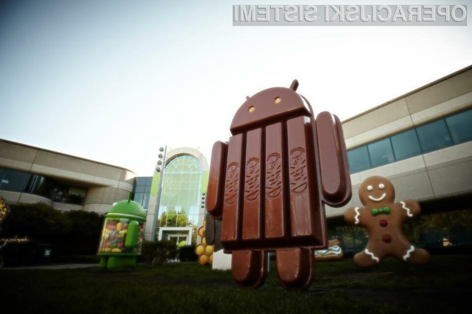Prihajajoči mobilni operacijski sistem Android 4.4.3 Kitkat bo po vsej verjetnosti na voljo le za mobilne naprave Google Nexus.
