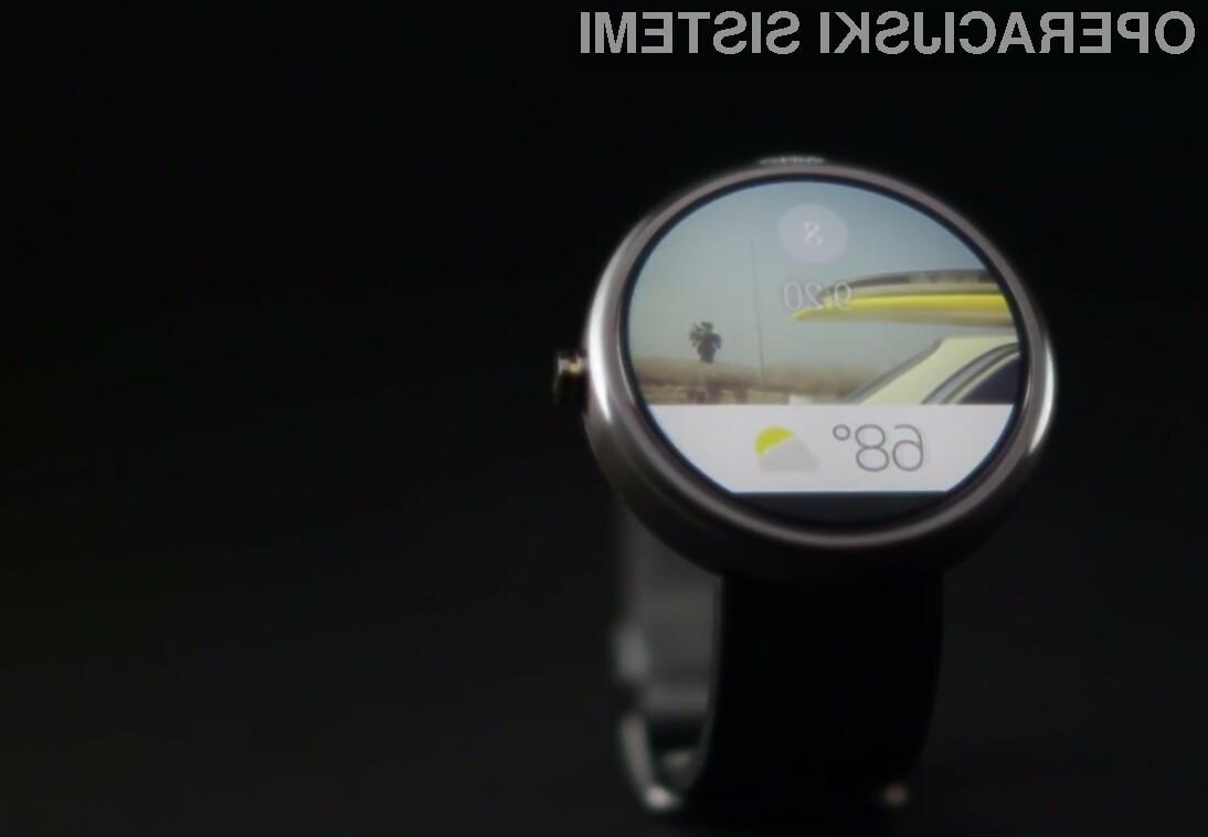 Android Wear - zaenkrat je na voljo zgolj različica, namenjena razvijalcem mobilnih aplikacij.