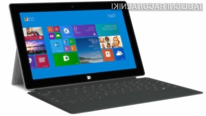 Prenovljeni tablični računalnik Microsoft Surface 2 se ponaša še s hitro mobilno povezavo 4G/LTE.
