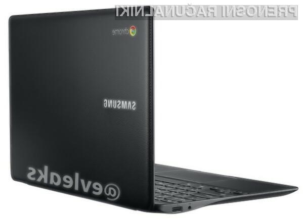 Prenosnik Samsung Chromebook odet v usnje bo namenjen predvsem petičnežem in poslovnežem.