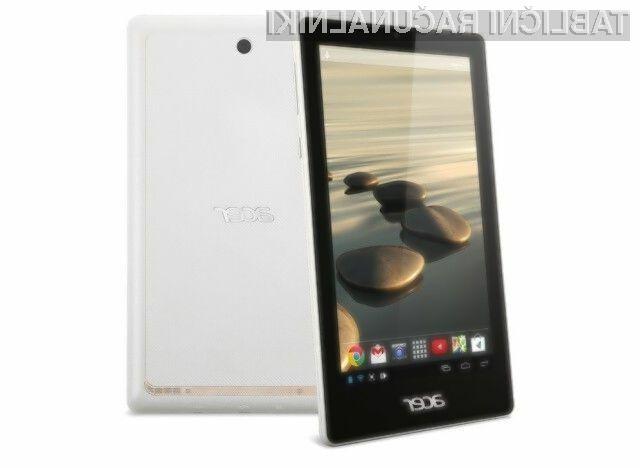 Tablični računalnik Acer Iconia One 7 bo kljub nizki ceni dovolj zmogljiv za opravljanje vsakodnevnih opravil in preživljanje prostega časa.