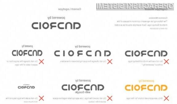 Logotip »Powered by Android« bo odslej prisoten na vseh mobilnih napravah Android.