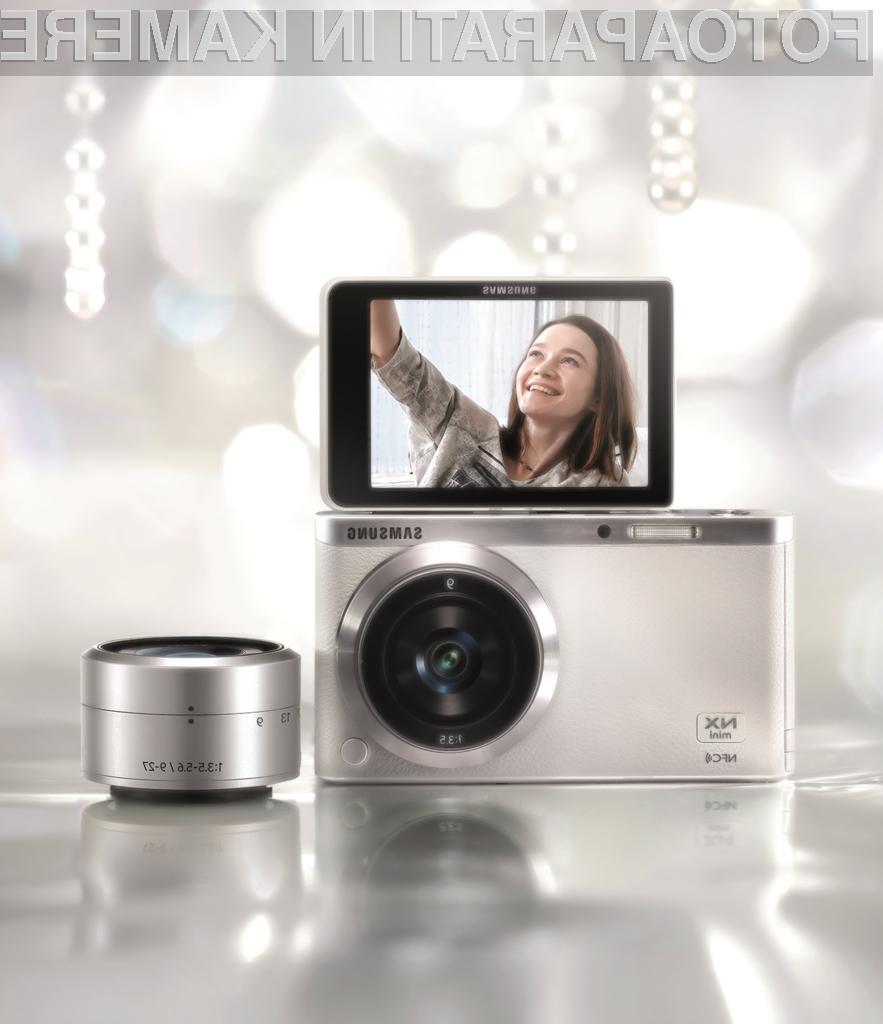 Samsung NX mini SMART: Najtanjši in najlažji fotoaparat s sistemom zamenljivih objektivov