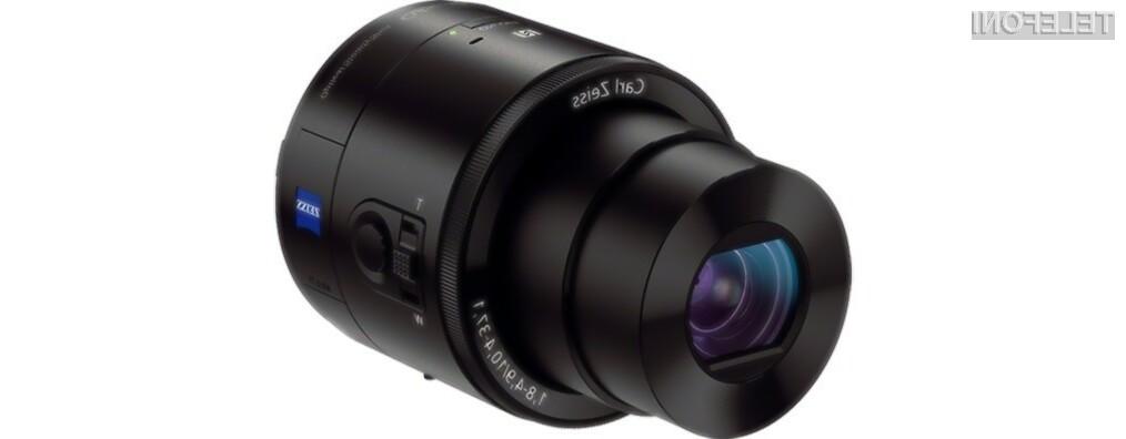 Sony QX lens-style camera