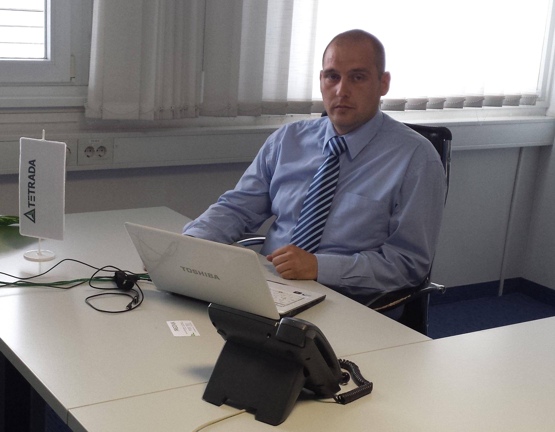 Robert Boh, svetovalec za elektronsko poslovanje pri podjetju Tetrada d.o.o.