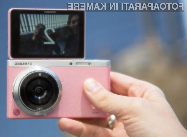 Samsung lastnikom fotoaparata družine NX mini obljublja izjemno kakovostne fotografije »selfie«.