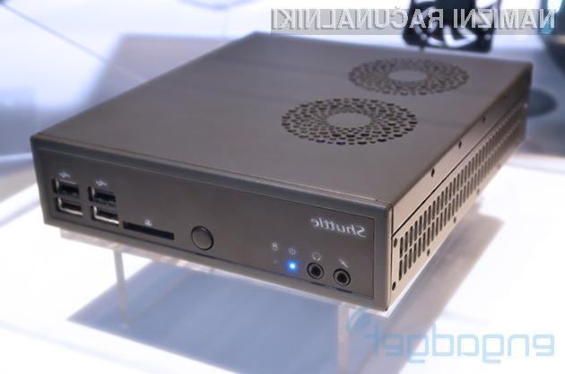 Kompaktni osebni računalnik Shuttle DS81 bo zlahka opravil tudi z najzahtevnejšimi nalogami.