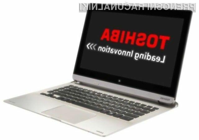 Hibridni prenosnik Toshiba Satellite P30W lahko v trenutku preobrazimo v tablični računalnik!