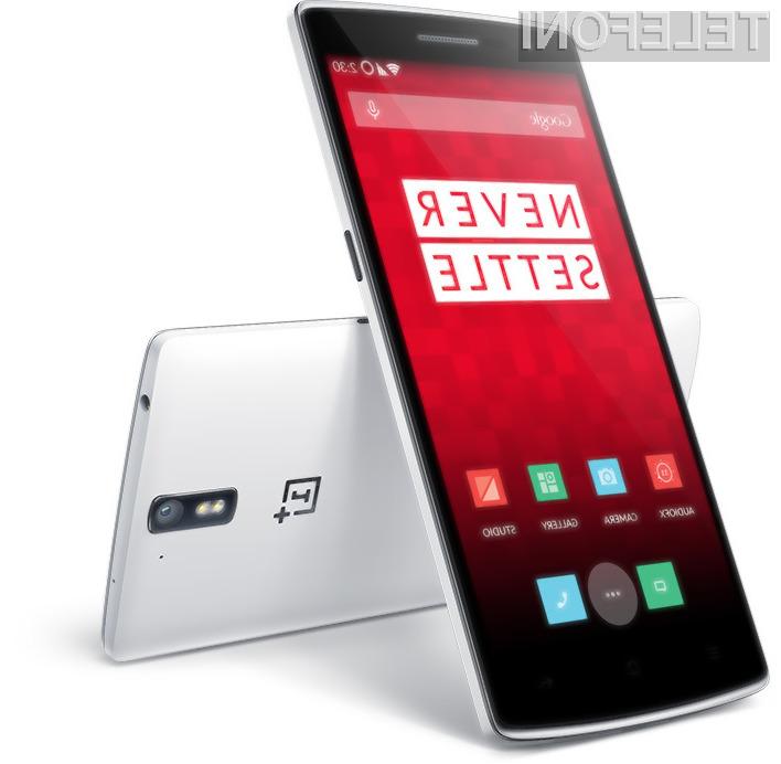 Izjemen mobilnik OnePlus One bo z Androidom L postal še uporabnejši!