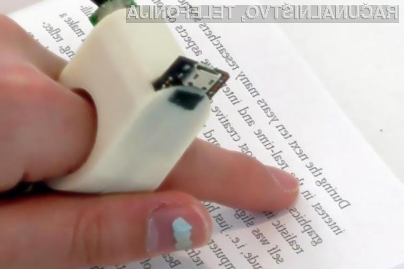 Novi elektronski pripomoček bo slepim in slabovidnim omogočil prebiranje knjižnih del!