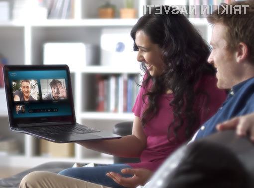 Za opravljanje konferenčnih klicev v okviru spletne storitve Skype ni več potrebna naročnina na paket »premium«.