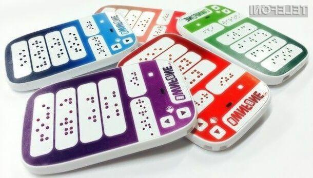 Prvi mobilni telefon z Braillovo pisavo bo močno poenostavil uporabo osnovnih storitev mobilne telefonije slepim in slabovidnim.