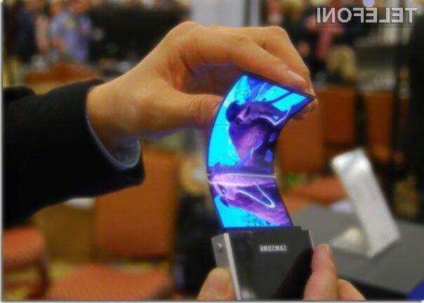 Mobilnik Galaxy Note 4 bo po vsej verjetnosti opremljen z upogljivim zaslonom.