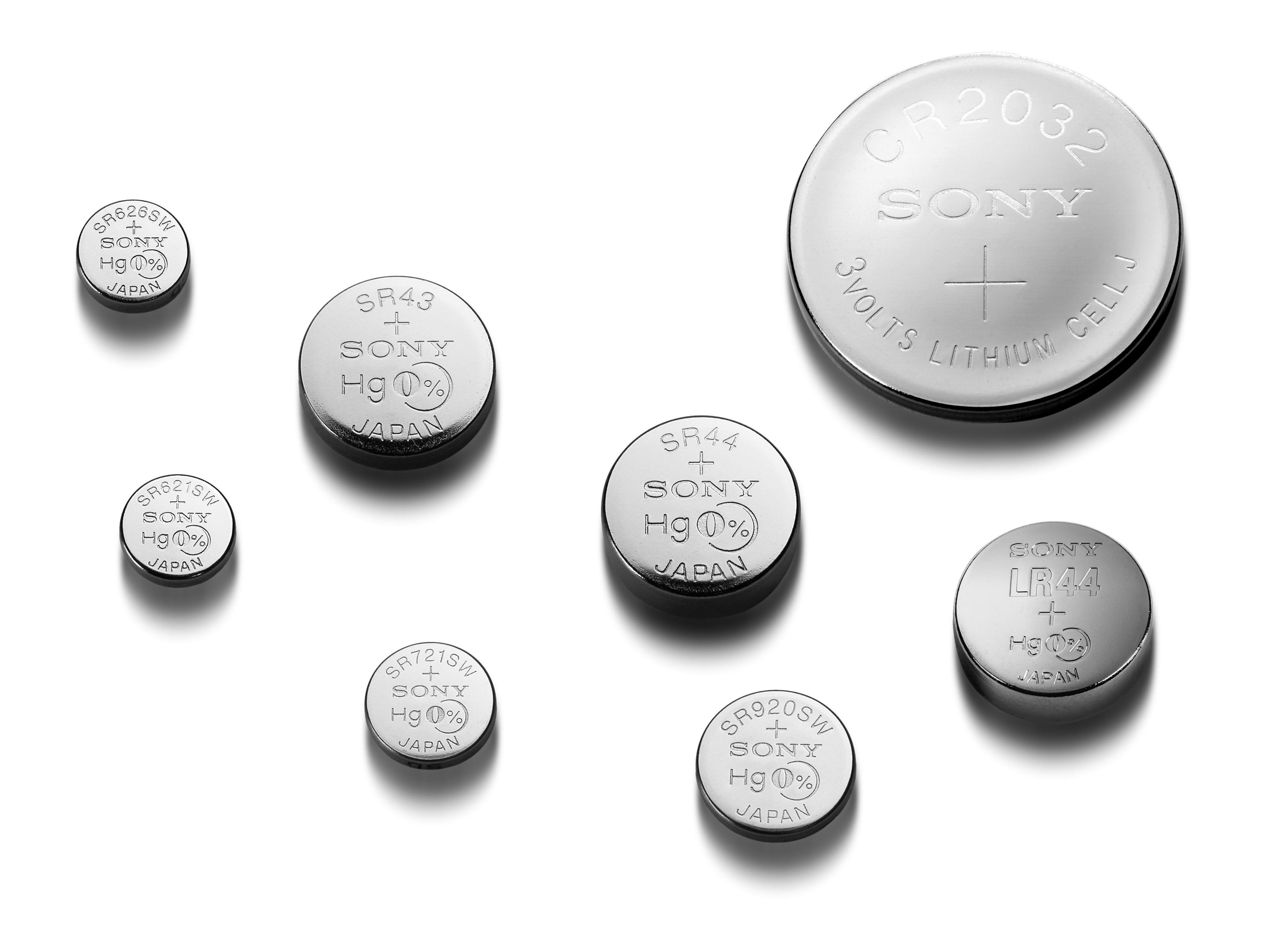 Sonyjeve mikro baterije ne vsebujejo škodljivega živega srebra.