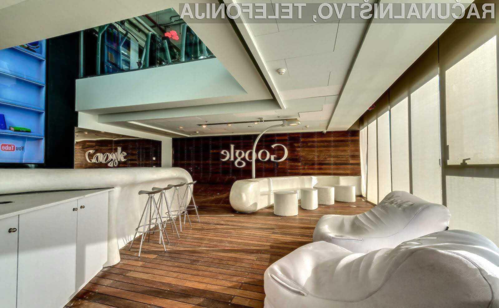 Podjetje Google je trenutno najboljši delodajalec v Silicijevi dolini!