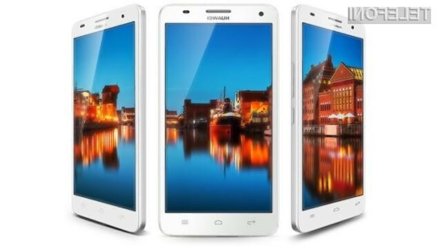 Izjemni mobilnik Huawei Glory 3X Pro naj bi v Evropo prispel še pred jesenjo.