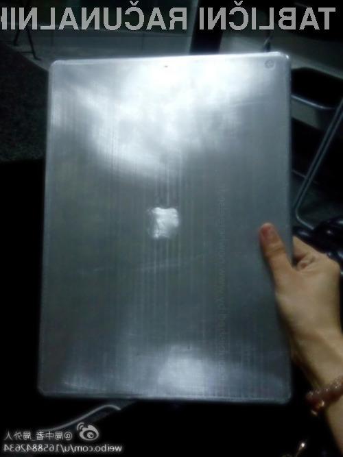 Večja tablica Apple iPad naj bi luč sveta ugledala šele aprila leta 2015.