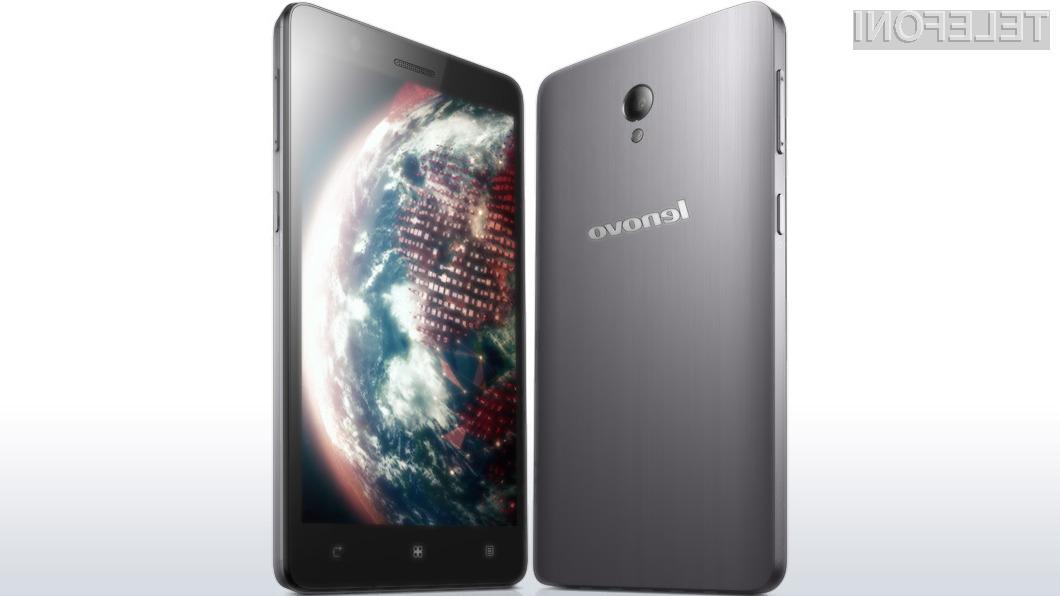 Podjetju Lenovo je v letu dni uspelo pridobiti kar odstotek svetovnega trga mobilne telefonije.