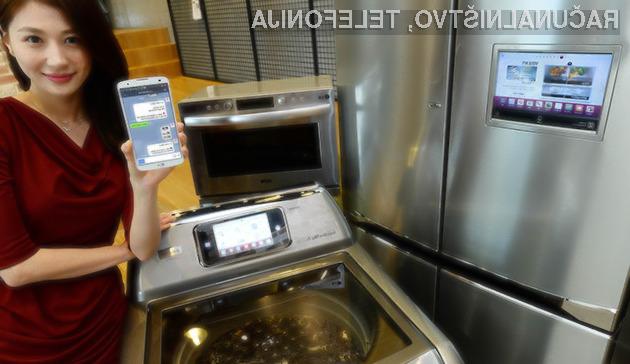 Gospodinjskimi aparati in pametni mobilni telefoni so postali neločljivi.