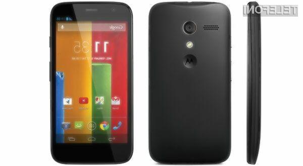 Za mobilnik Motorola Moto E bo v Evropi potrebno odšteti le okoli 150 evrov.