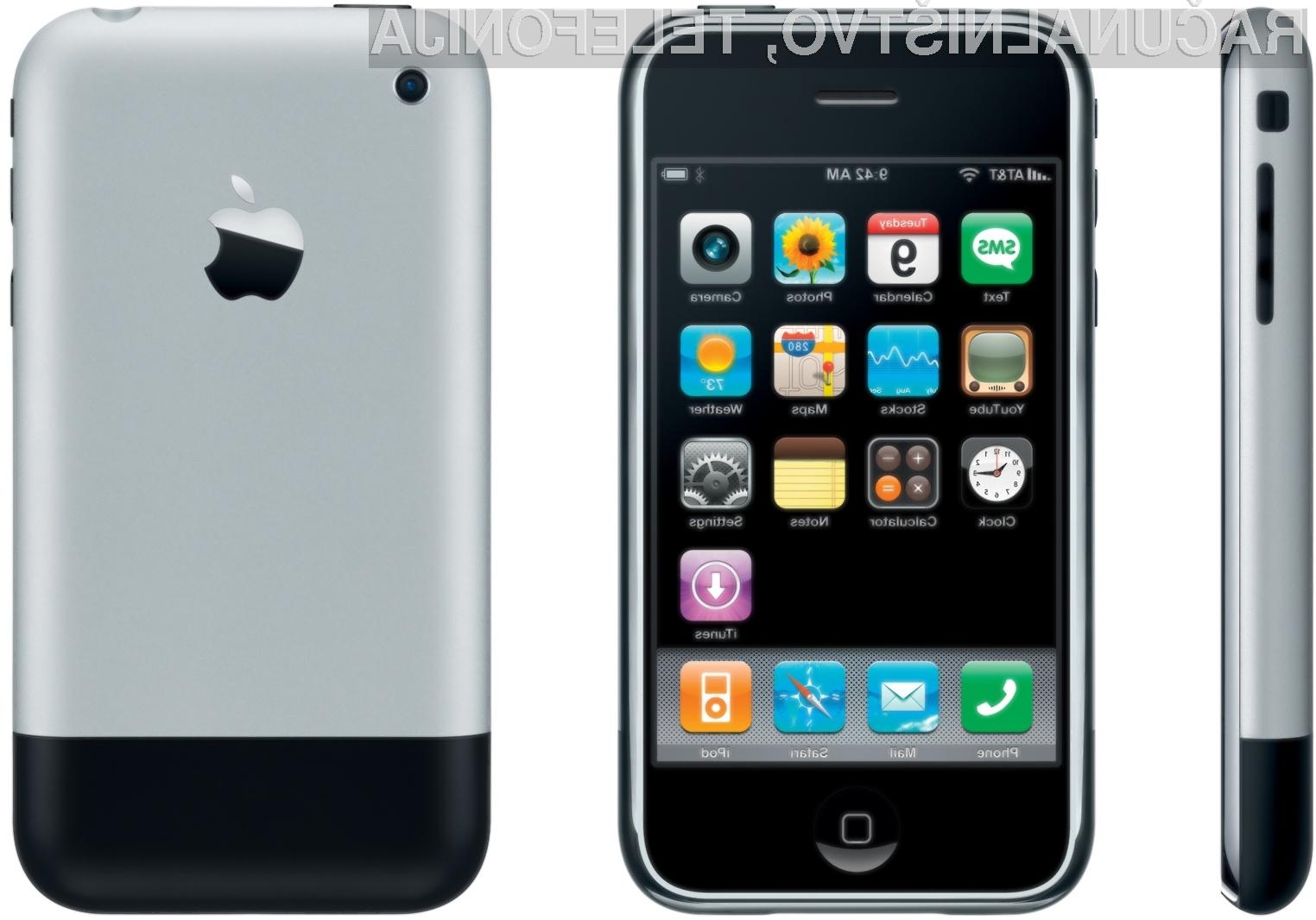 iPhone – predhodnik današnjih pametnih telefonov.