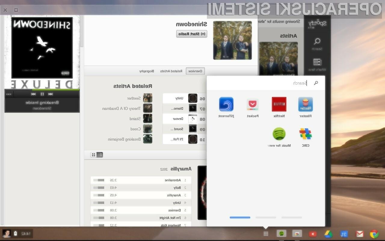 Pet let podpore za najbolj priljubljen oblačni sistem Chrome OS