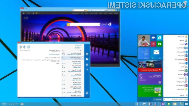 Končna različica operacijskega sistema Windowsa 9 naj bi bila nared za množično uporabo že aprila leta 2015.