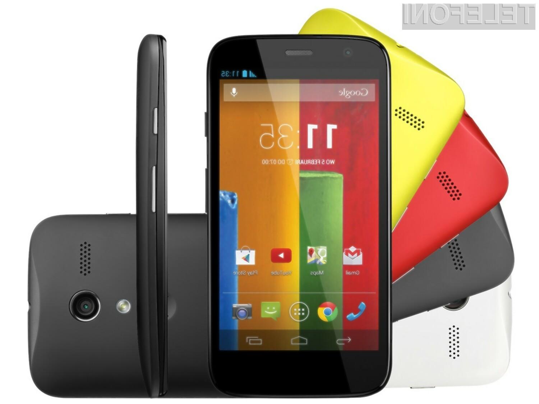 Mobilnik Motorola Moto E naju bi bil kljub nizki maloprodajni ceni kot nalašč tudi za nekoliko zahtevnejša opravila.