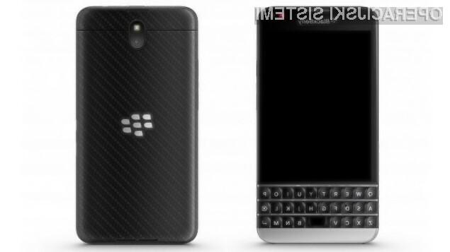 Pametni mobilni telefon BlackBerry Windermere naj bi bil zlahka kos tudi najzahtevnejšim nalogam.