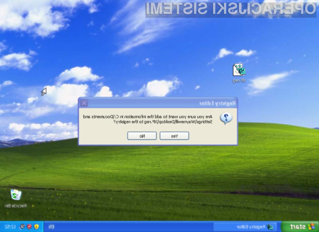 Podaljšajmo podporo za Windows XP do leta 2019!
