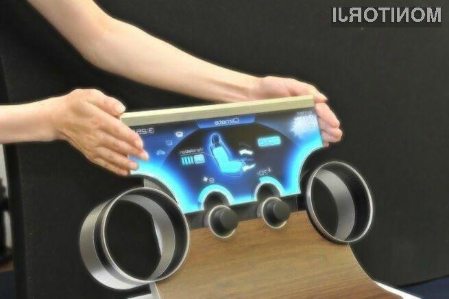 Zasloni Sharp poljubne oblike bodo pripomogli k znatnemu povečanju uporabnosti avtomobilov.