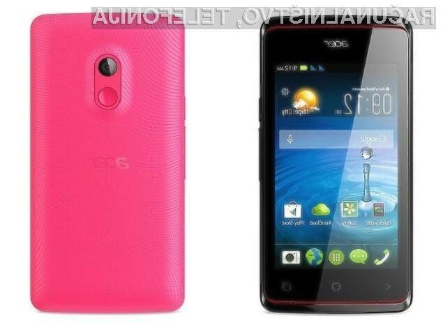 Cenovno ugoden mobilnik Acer Liquid Z200 je zaradi nezmogljive strojne opreme primeren predvsem za manj zahtevne uporabnike in za začetnike.
