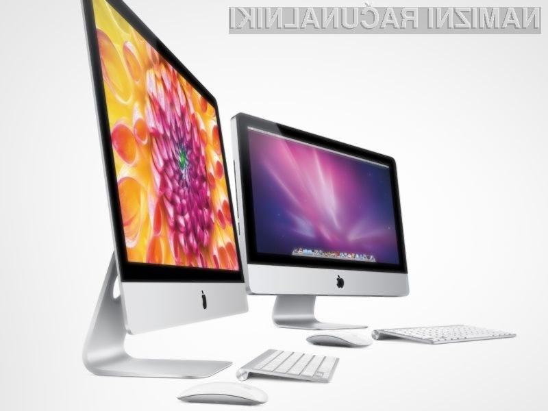 Osebne računalnike iMac z visokokakovostnimi zasloni Retina naj bi Apple predstavil že jeseni!